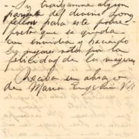 F. 14v. Cartas a Alberto Nin Frías