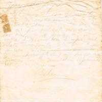 F. 2r. Cartas de Belén Ribeiro de Vaz Ferreira