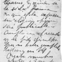 F. 1v. Carta a Delmira Agustini