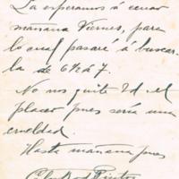 F. 3r. Cartas de Carlos Rodríguez Pintos
