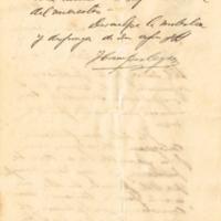 F. 2r. Carta de J. Campistegui