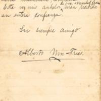 F. 13v. Cartas de Alberto Nin Frías