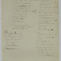 F. 1r. Lista de poemas