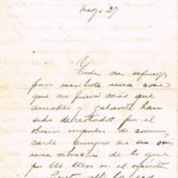 F. 1r. Carta de A. C. Maggiolo