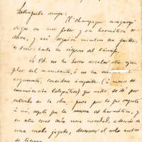 F. 4r. Cartas de José Enrique Rodó