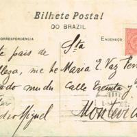 F. 1v. Postales de Pedro Miguel Obligado