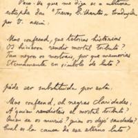 F. 3r. Cartas de Luís Guimarães
