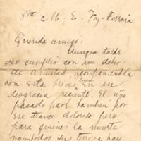 F. 3r. Cartas de Alberto Nin Frías
