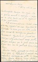 Carta de Américo Escuder