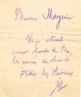 Cartas de Mario C. Simeto