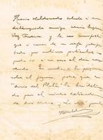 Carta de Horacio Maldonado